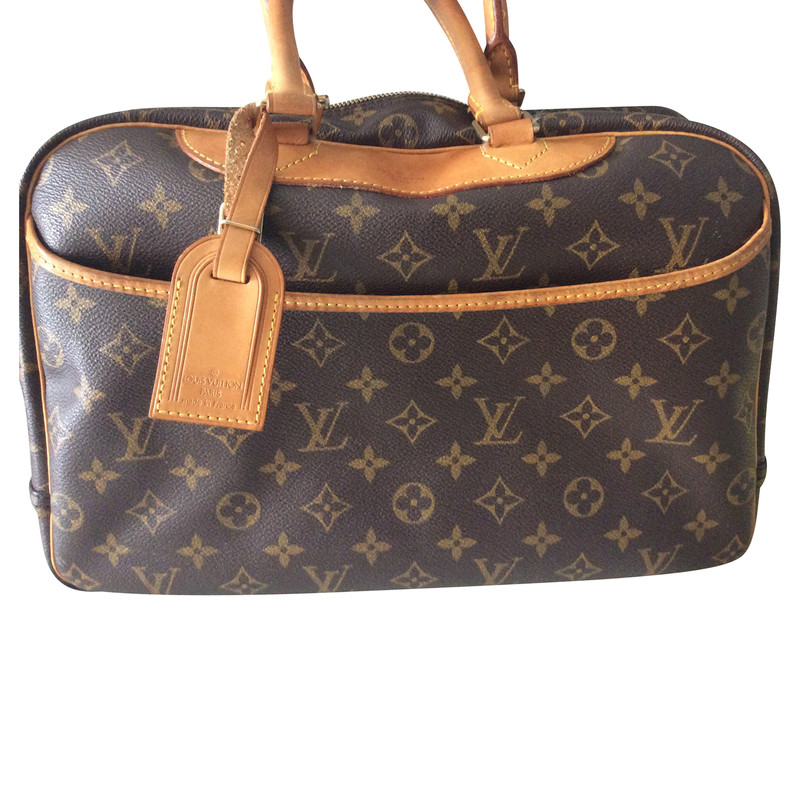 louis vuitton bag deauville buy second hand louis vuitton bag deauville for. Black Bedroom Furniture Sets. Home Design Ideas