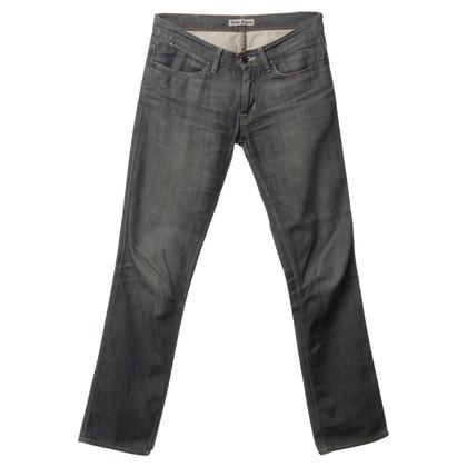 Acne Jeans in blu-grigio