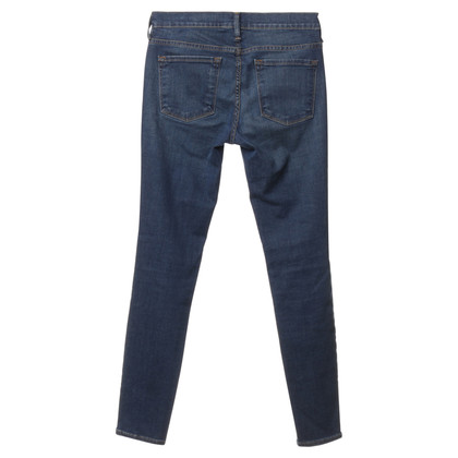 Frame Denim Skinny Jeans in Blau