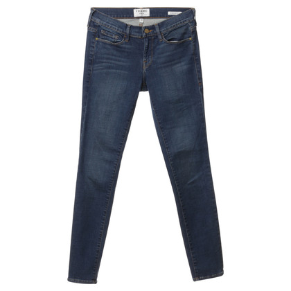 Frame Denim Skinny blue jeans