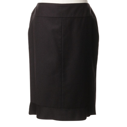 Chanel skirt anthracite