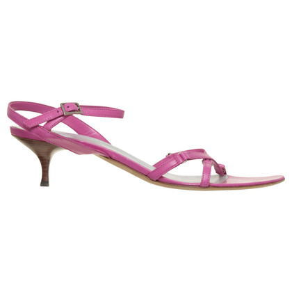 Pollini Kitten heel sandals in pink