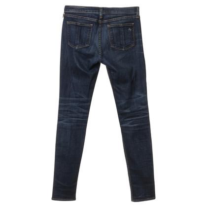 Rag & Bone Jeans blu scuro