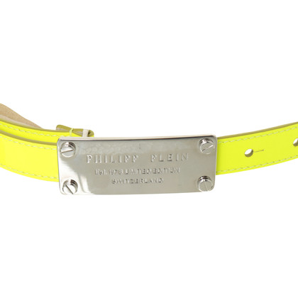 Philipp Plein Belts in neon-yellow