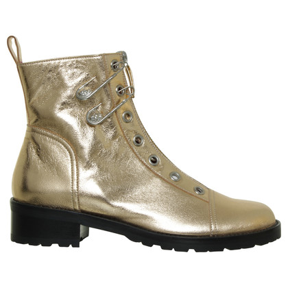 Gianni Versace Boots in copper metallic