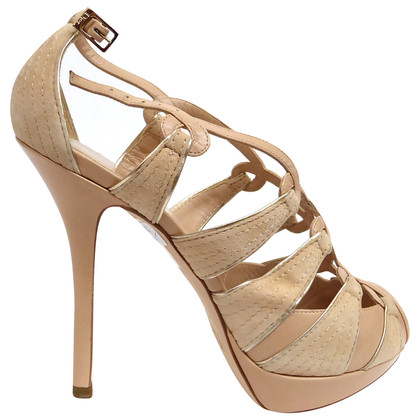 Christian Dior Peep-toes