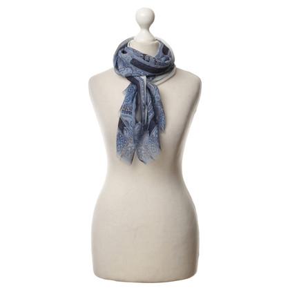 Etro Silk scarf in blue