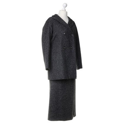 Jil Sander Costume with alpaca