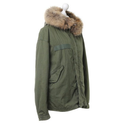 Barbed Jacket with fur