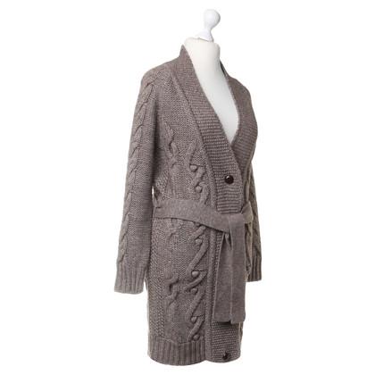 Closed Cappotto di maglia con alpaca