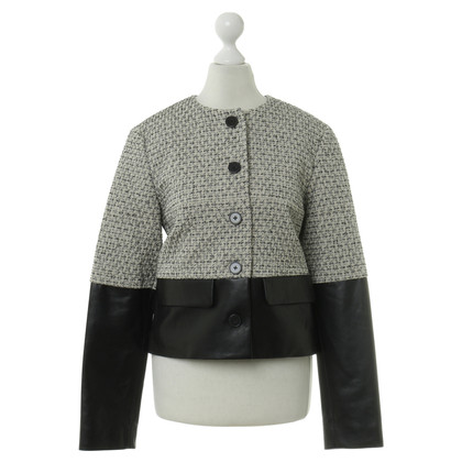 Derek Lam Jacket with leather trim