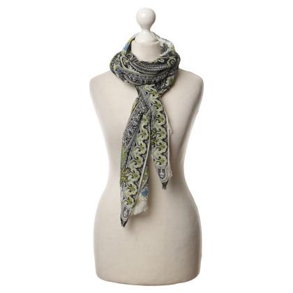 Etro Silk scarf Paisley pattern
