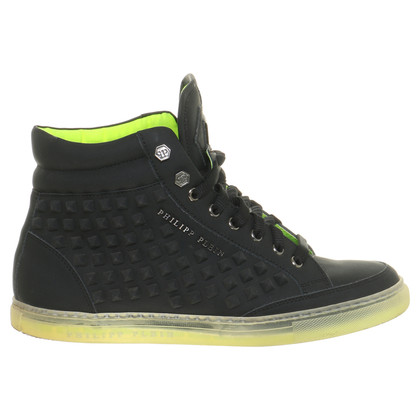 Philipp Plein Sneakers with neon accent