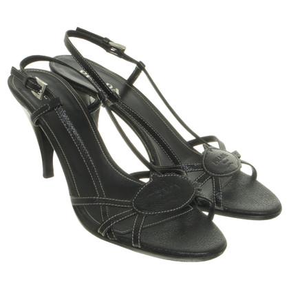 Prada Sandalen in zwart