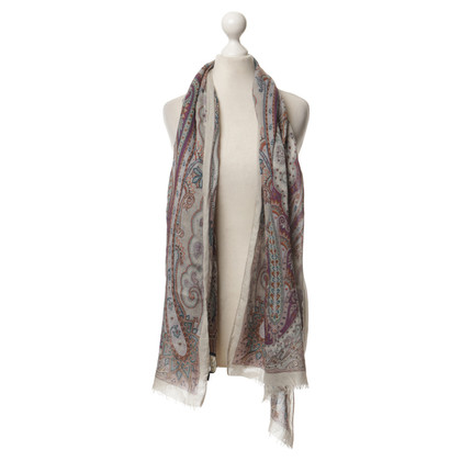 Etro Scarf made of silk and wool