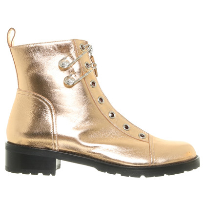 Versace Boots in gold tone