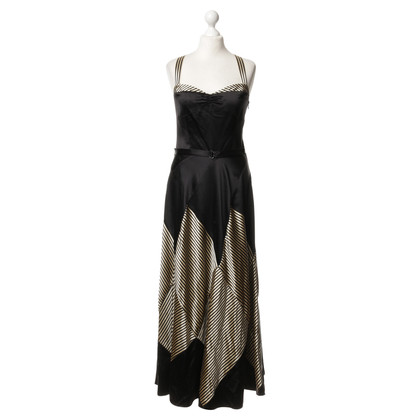 Ralph Lauren Silk dress with stripe