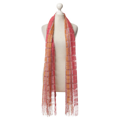 Missoni Scarf with crochet-look