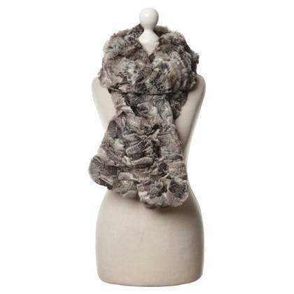 Andere merken Gemaakt van echt bont sjaal