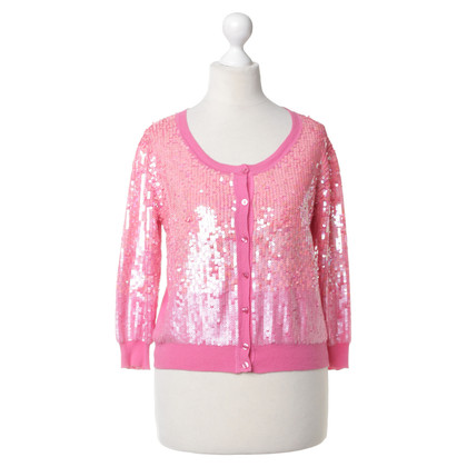 Pinko Cardigan with sequin trim