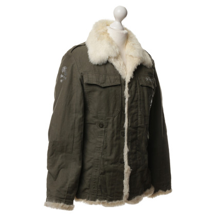 Philipp Plein Jacket with fur lining