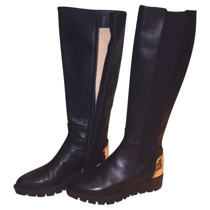 Baldinini Boots in Schwarz