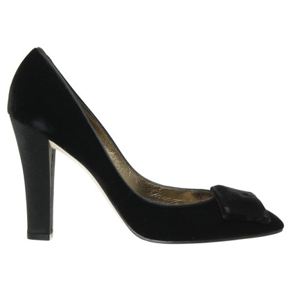 Christian Lacroix Pumps aus Samt