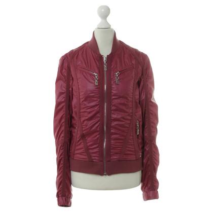 John Galliano College jacket in Fuchsia