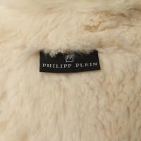 Philipp Plein Giacca con fodera in pelliccia