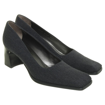 Sergio Rossi Pumps from grey textile