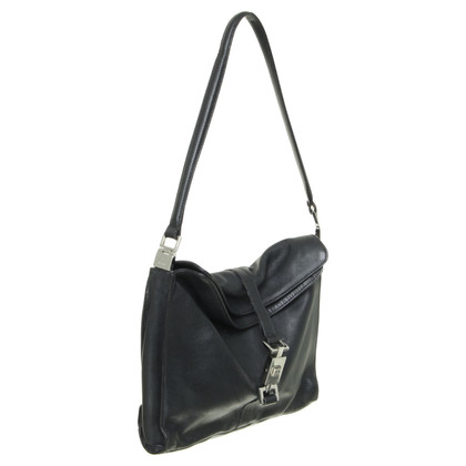 Gucci Leather handbag in black