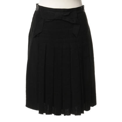 Lanvin Pleated skirt with loop application