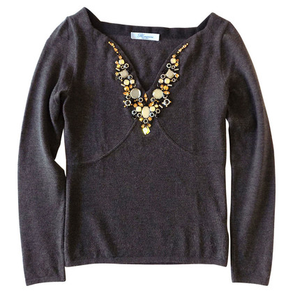 Blumarine Embroidered Pullover