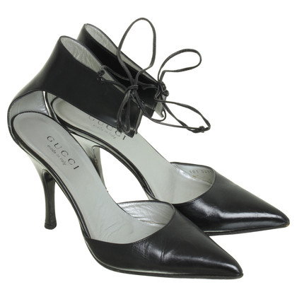 Gucci Pumps with ankle straps