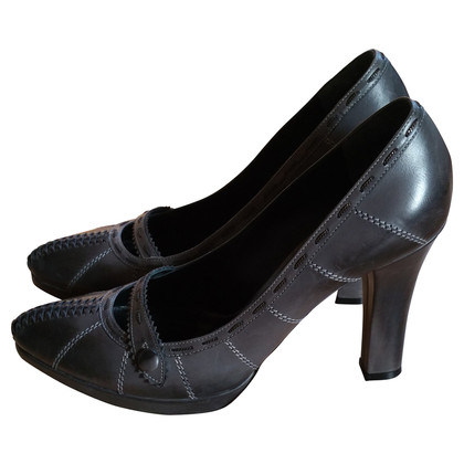Bottega Veneta Graue Pumps