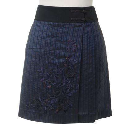 Philosophy di Alberta Ferretti skirt with embroidery