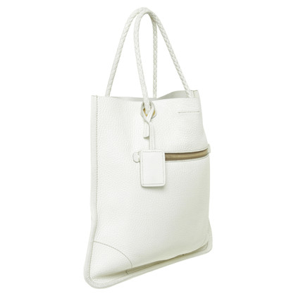 Car Shoe Borsa a mano in bianco