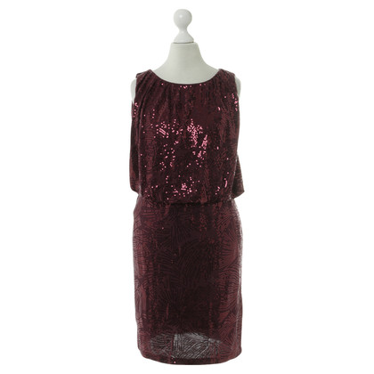Velvet Dress with sequins