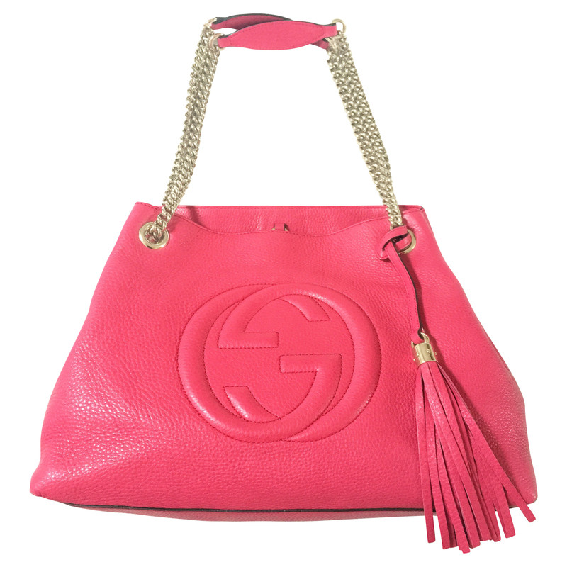 gucci tasche in pink second hand gucci tasche in pink. Black Bedroom Furniture Sets. Home Design Ideas
