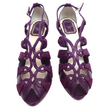 Christian Dior Sandals purple