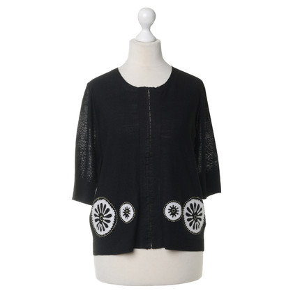 DKNY Cardigan with decorative trim