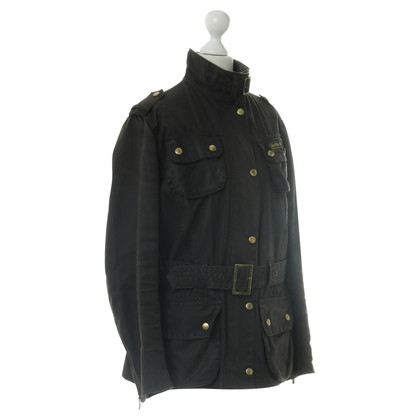 Barbour Jacke in Dunkelblau