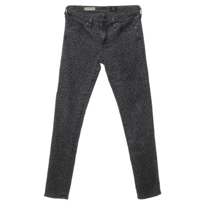Adriano Goldschmied Leo-imprimer jeans