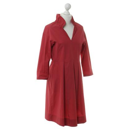 Jil Sander Kleid in Rot