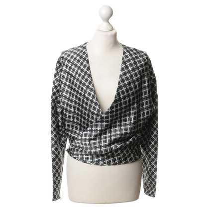 Balenciaga Silk jacket with pattern