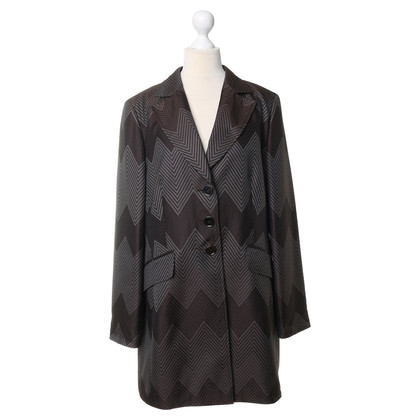 Basler Long Blazer with pattern