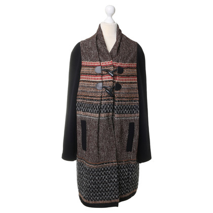 Philosophy di Alberta Ferretti Coat in the boho look