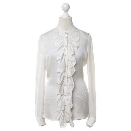 Temperley London Camicia con jabot