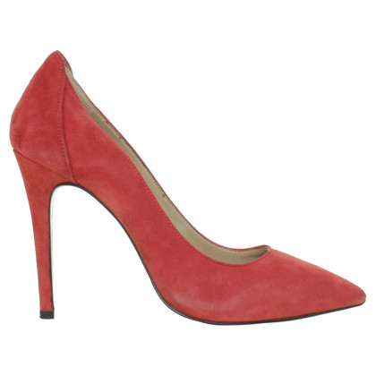By Malene Birger Pumps aus rotem Wildleder