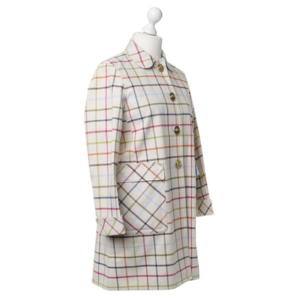 Coach Cappotto con pattern plaid